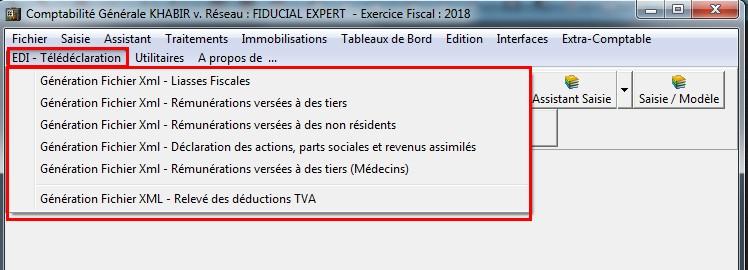 Logiciel EDI Maroc - Télédéclaration des liasses fiscales simpl is maroc